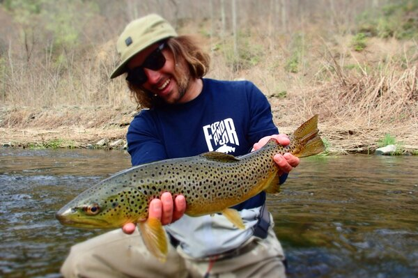 delaware river brown trout caught by jesse filingo of filingo fly fishing (339)