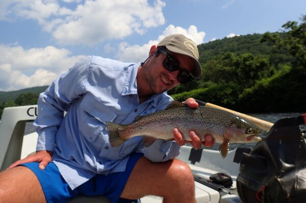 upper delaware river guided fly fishing tours (886)