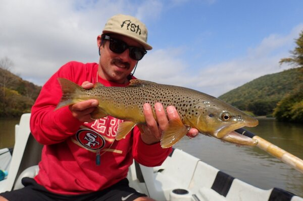 guided fly fishing float trips on the west branch of the delaware river (981)