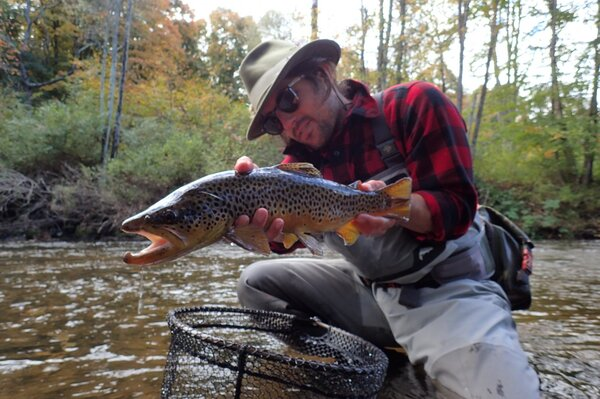 guided fly fishing pennsylvania pocono mountains and west branch delaware river new york trout filingo fly fishing (1275)