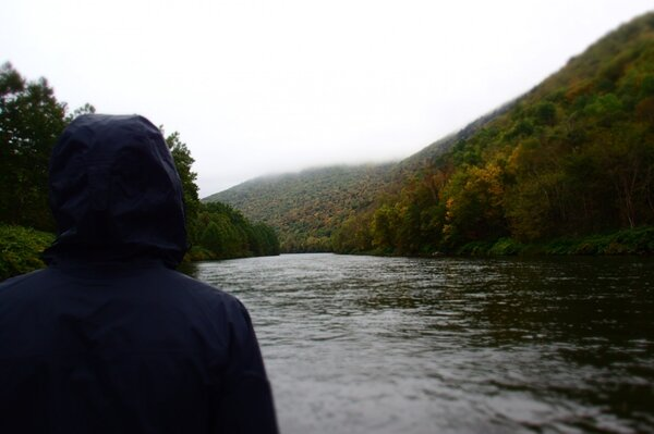 guided fly fishing tours on the upper delaware river with jesse filingo for wild trout (641)