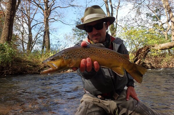 fly fishing the pocono mountains and delaware river for wild trout with jesse filingo of filingo fly fishing (656)