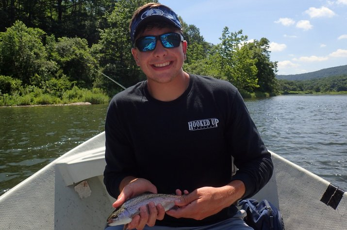 guided fly fishing west branch delaware river new york filingo fly fishing