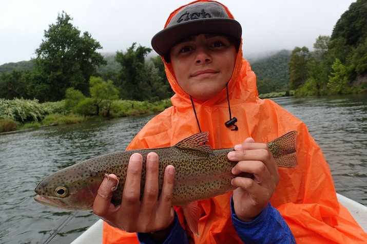 guided fly fishing float trips delaware river new york and pocono mountains pennsylvania jesse filingo
