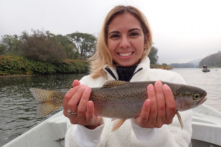 new york upper delaware river guided fly fishing tours wild trout jesse filingo