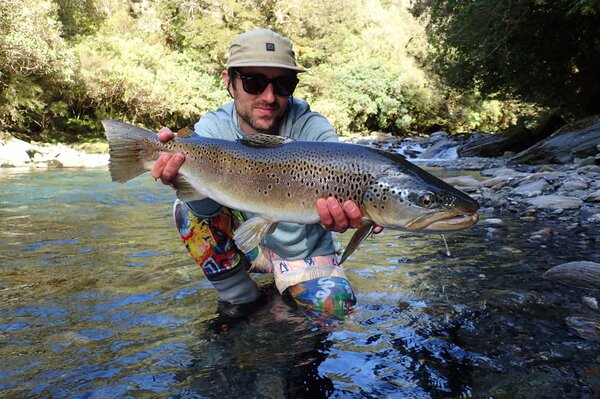 guided fly fishing for wild trout with jesse filingo in the pocono mountains (728)