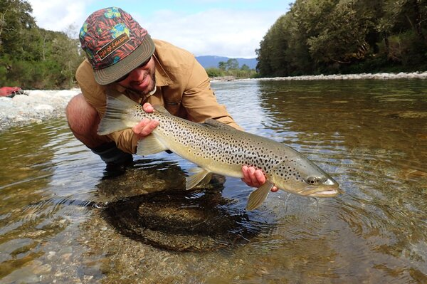 fly fishing the upper delaware river for wild trout with filingo fly fishing (733)