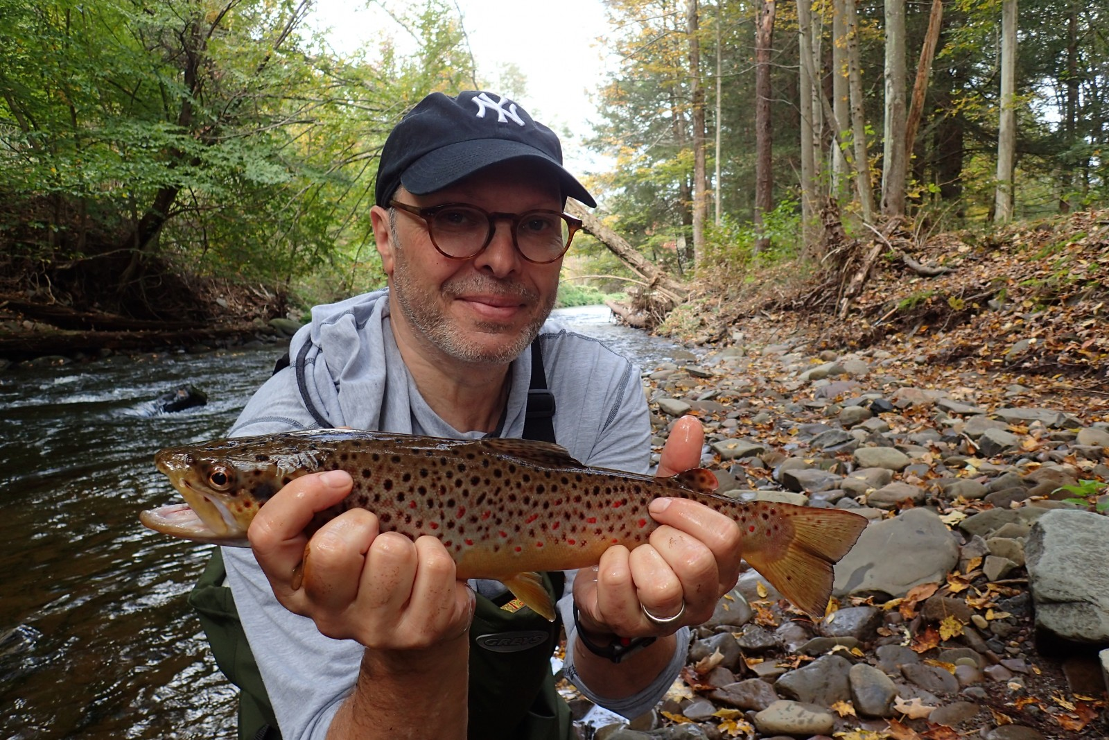 guided fly fishing trips in the pocono mountains with filingo fly fishing and jesse filingo