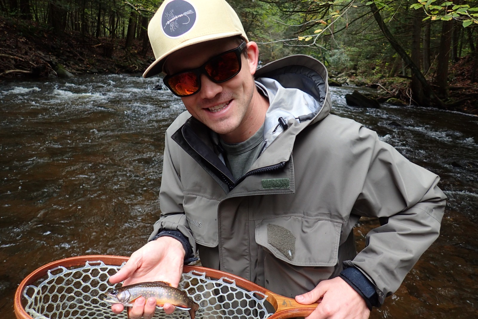 guided fly fishing tours in the pocono mountains and delaware river with filingo fly fishing