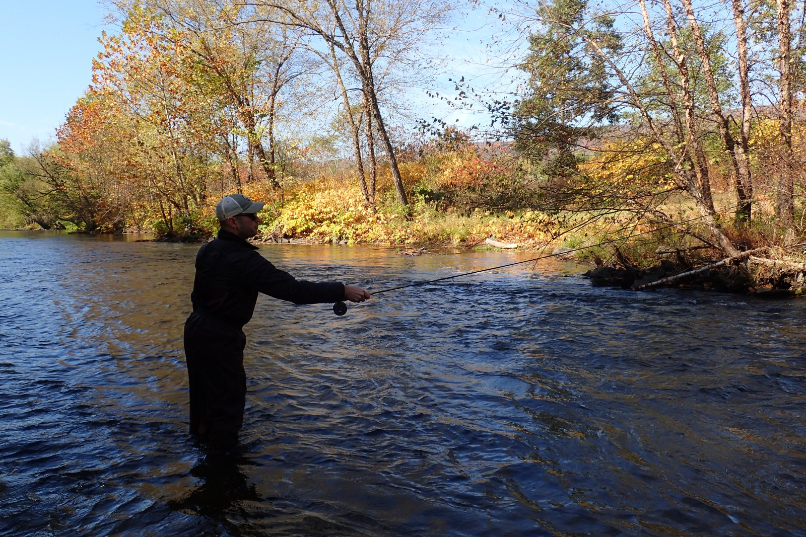 pocono mountains guided fly fishing trips with jesse filingo of filingo fly fishing for wild trout