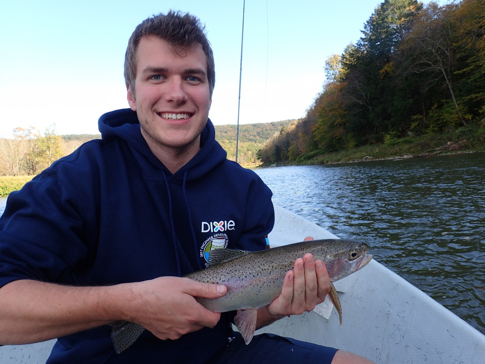 guided fly fishing trips on the delaware river for wild trout with jesse filingo of filingo fly fishing for rainbow trout on the delaware river.