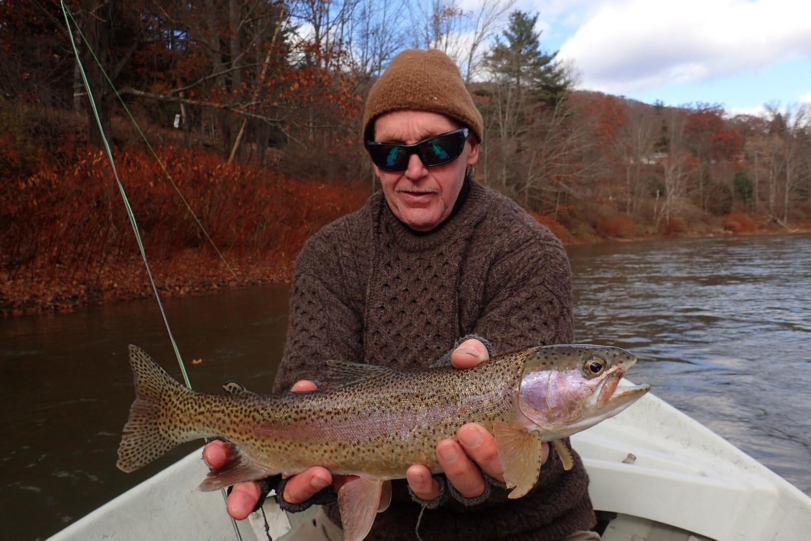 fly fishing the main stem delaware river and west branch delaware river with guide jesse filingo of filingo fly fishing